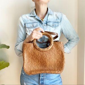 Fossil Brown Crossbody Handbag Purse